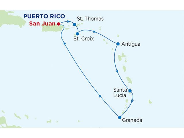 crucero-Jewel of the Seas : 7 noches de crucero por el Caribe Meridional (Clase Radiance)