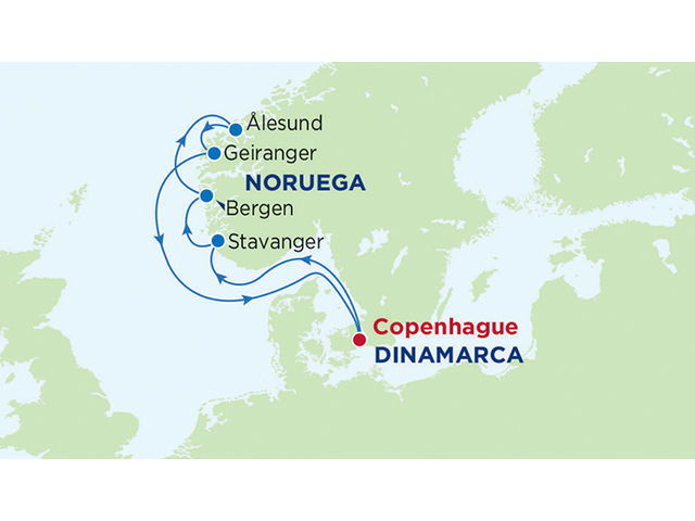 crucero-Serenade Of The Seas : 7 noches de crucero por los Fiordos Noruegos (Clase Radiance)
