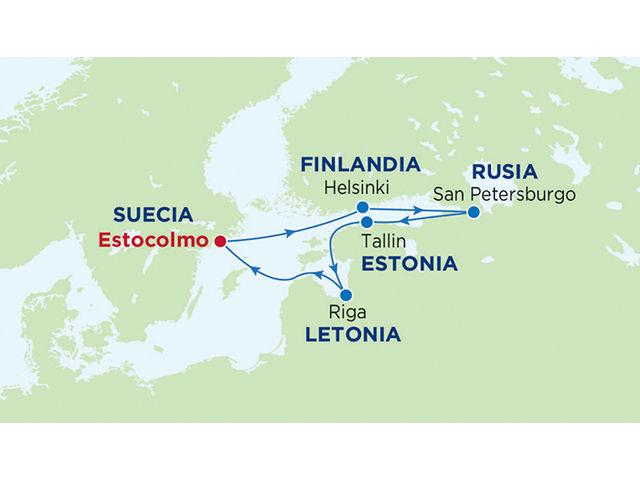 crucero-Serenade Of The Seas : 7 noches de crucero por Escandinavia y Rusia (Clase Radiance)